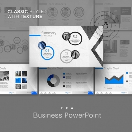 Exa Creative Business PowerPoint