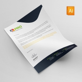 Expro Brand Clean Letterhead