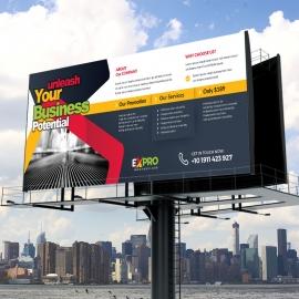Expro Clean Brand Billboard Banner