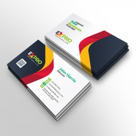 Expro Clean Brand Business Card