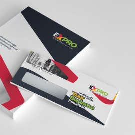 Expro Clean Brand Catalog Envelope