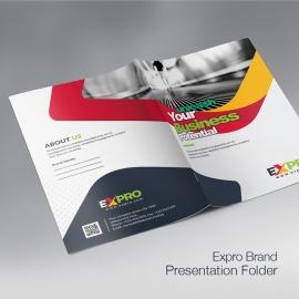 Expro Clean Brand Presentation Folder