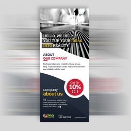 Expro Clean Brand Rollup Banner