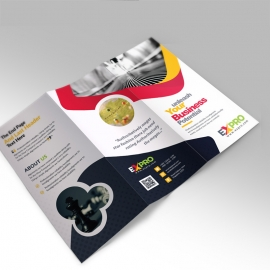 Expro Clean Brand Trifold Brochure