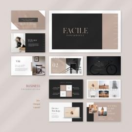 Facile Business Google Slide Presentation