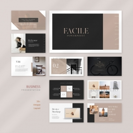 Facile Business PowerPoint Presentation