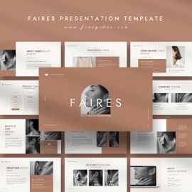 Faires Beauty Jewelry PowerPoint Template