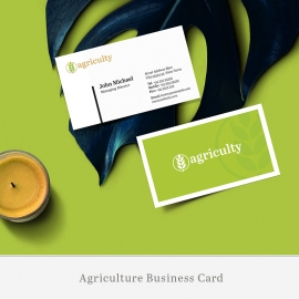 Farm House & Agriculture Business Card