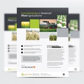 Farm House & Agriculture Flyer