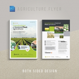 Farm House & Agriculture Flyer / Poster