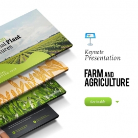 Farm House & Agriculture Keynote Template