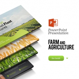 Farm House & Agriculture Powerpoint Presentation