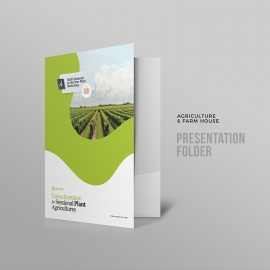 Farm House & Agriculture Presentation Folder