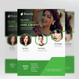 Fashion Beauty Spa Flyer