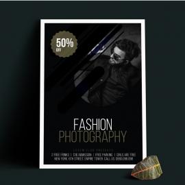Fashion Black Flyer