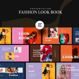 Fashion Lookbook PowerPoint Presentation