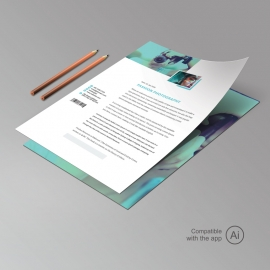 Fashion Photography Letterhead