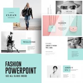 Fashion PowerPoint Presentation Template