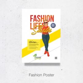 Fashion Promotion Poster Design