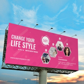 Fashion Sale Billboard Banner