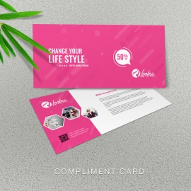 Fashion Sale Compliment Card