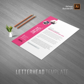 Fashion Sale Letterhead