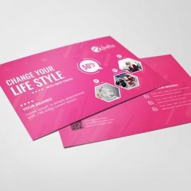 Fashion Sale Post Card