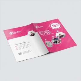 Fashion Sale Presentation Folder