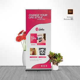 Fashion Sale Rollup Banner
