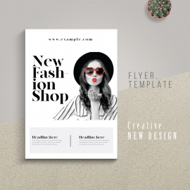 Fashion Shop Flyer / Poster Template