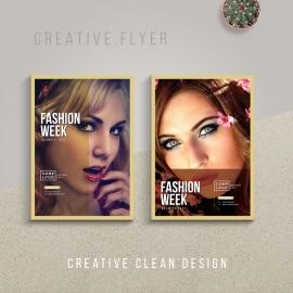 Fashion Week Poster Flyer