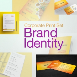 FastFood Branding Identity Print Set