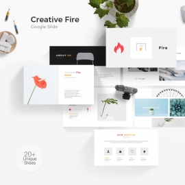 Fire Google Slide Template