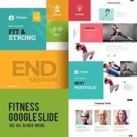 Fitness Google Slide Template