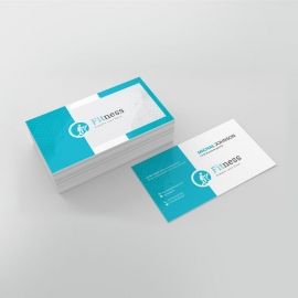 Fitness Gym Businesscard Template
