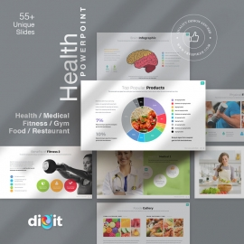 Fitness & Health Care Powerpoint | Digit XI