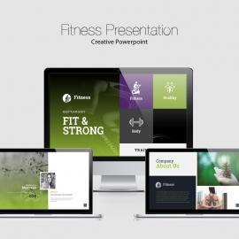 Fitness Powerpoint Presentation