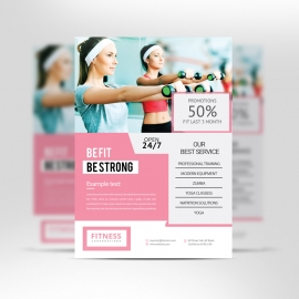 Fitness/GYM Flyer