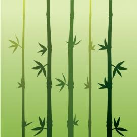 Flat Bamboo Vector