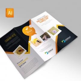 Flower Shop Trifold Brochure
