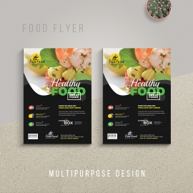 Food and Restaurant Flyer Template