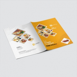 Food and Restaurant Presentation Folder