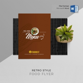 Food Menu Booklet with Price List Photo Gallery