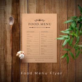 Food Menu Flyer/Poster