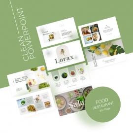 Food PowerPoint Presentation Template