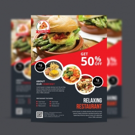 Food & Restaurant Flyer