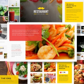 Food & Restaurant Powerpoint Presentation