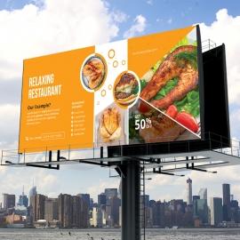 Food & Restaurant Billboard Outdoor Banner