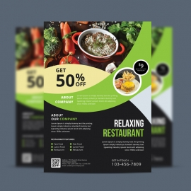 Food & Vegetable Flyer