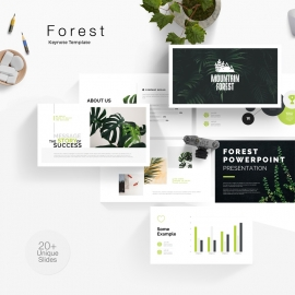 Forest Keynote Template